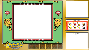 Pokemon Yellow Twitch Overlay
