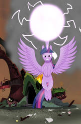 You Destroyed My House!! Angry Twilight by TommyWat