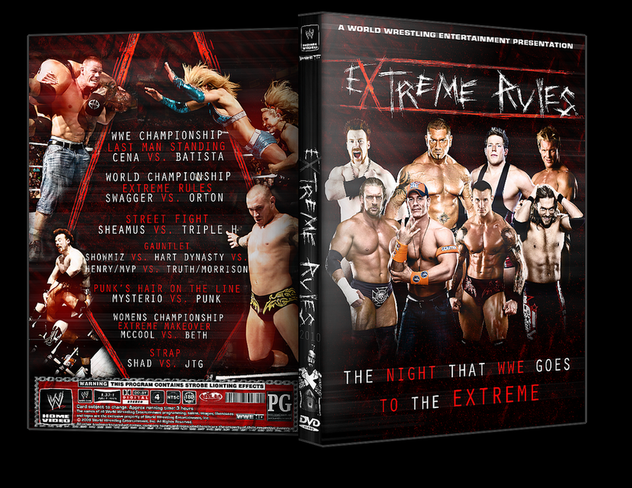 WWE Extreme Rules 2010 by SNK by SnKgraphics