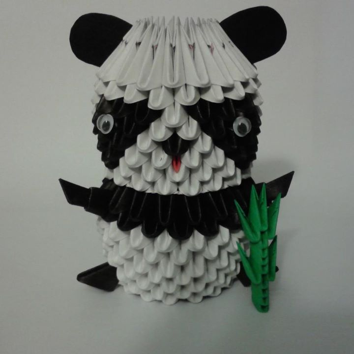 Panda Origami 3d By Sfa87 On Deviantart