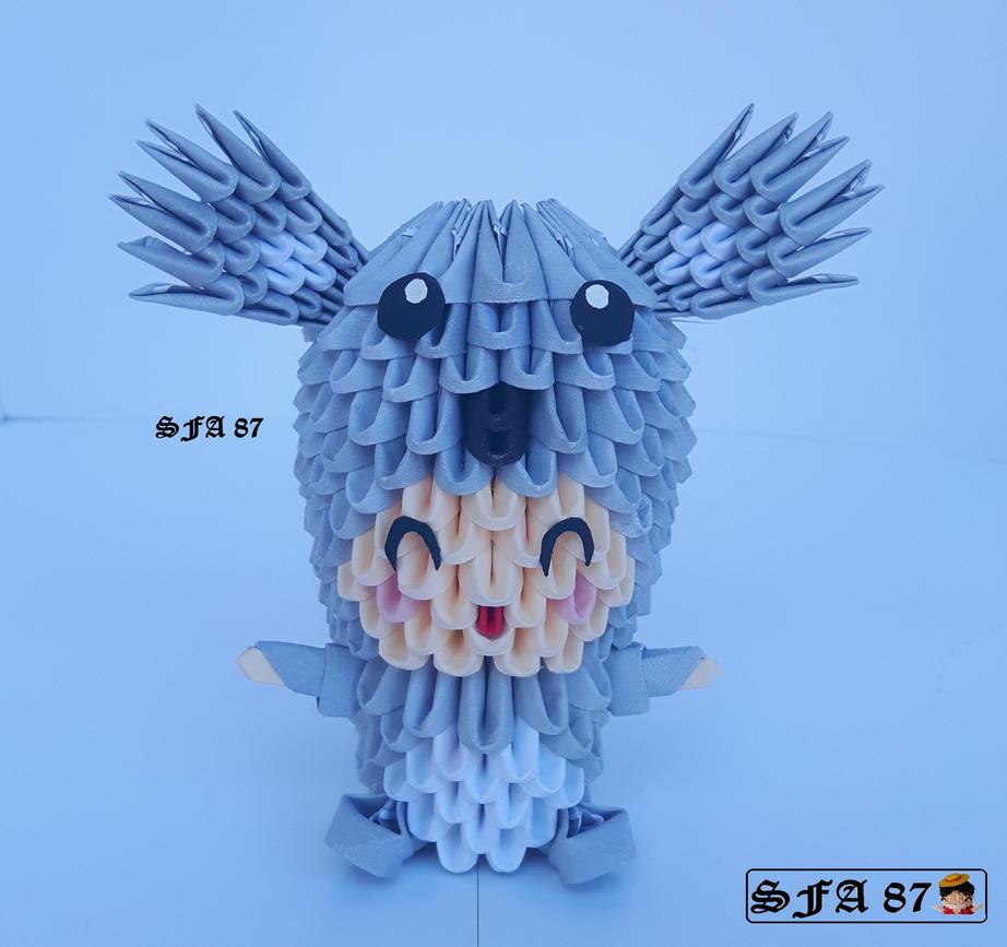 Koala Kid Origami 3d by Sfa87
