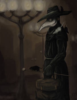 Plague Doctor is coming.