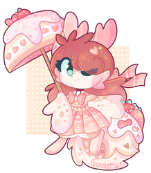 (FF) Strawberry Shortcake : CLOSED : by Bunaberry