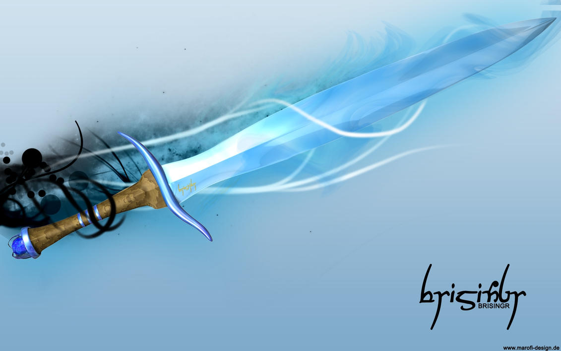 brisingr - flaming sword by marofi on DeviantArt