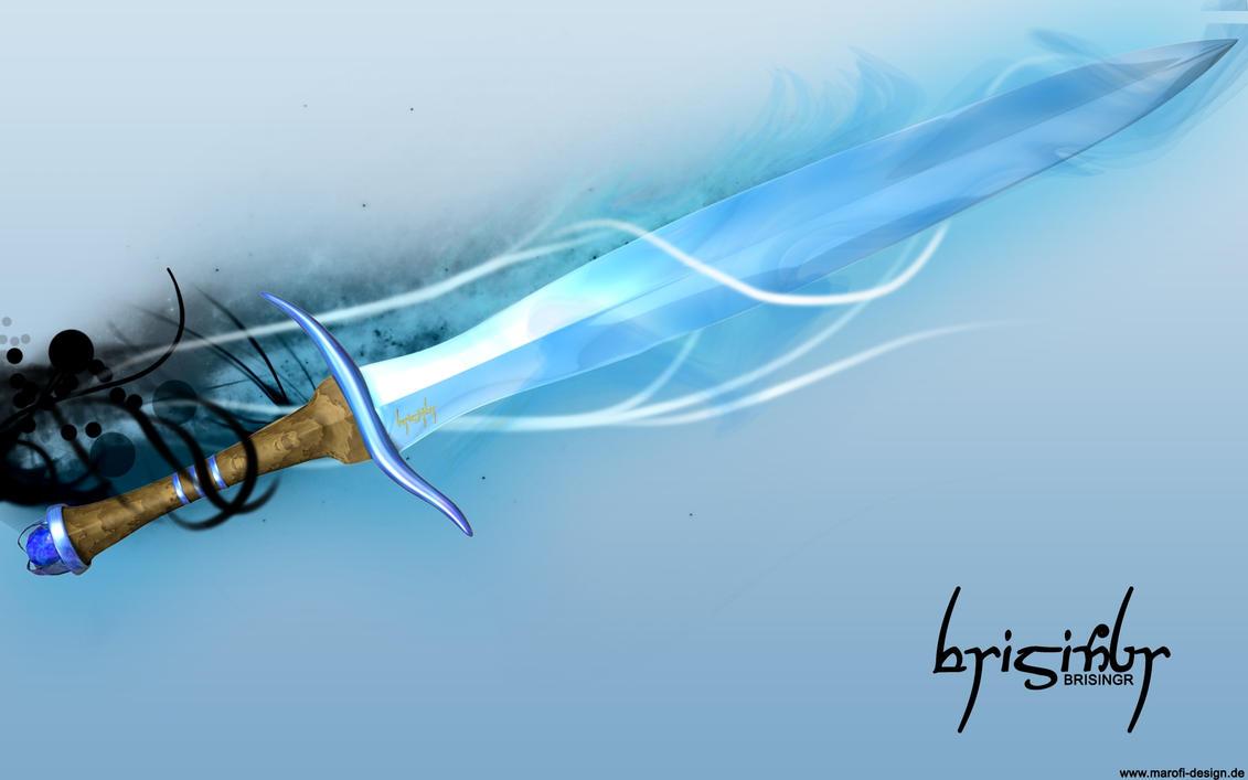 brisingr - flaming sword by marofi on DeviantArt
