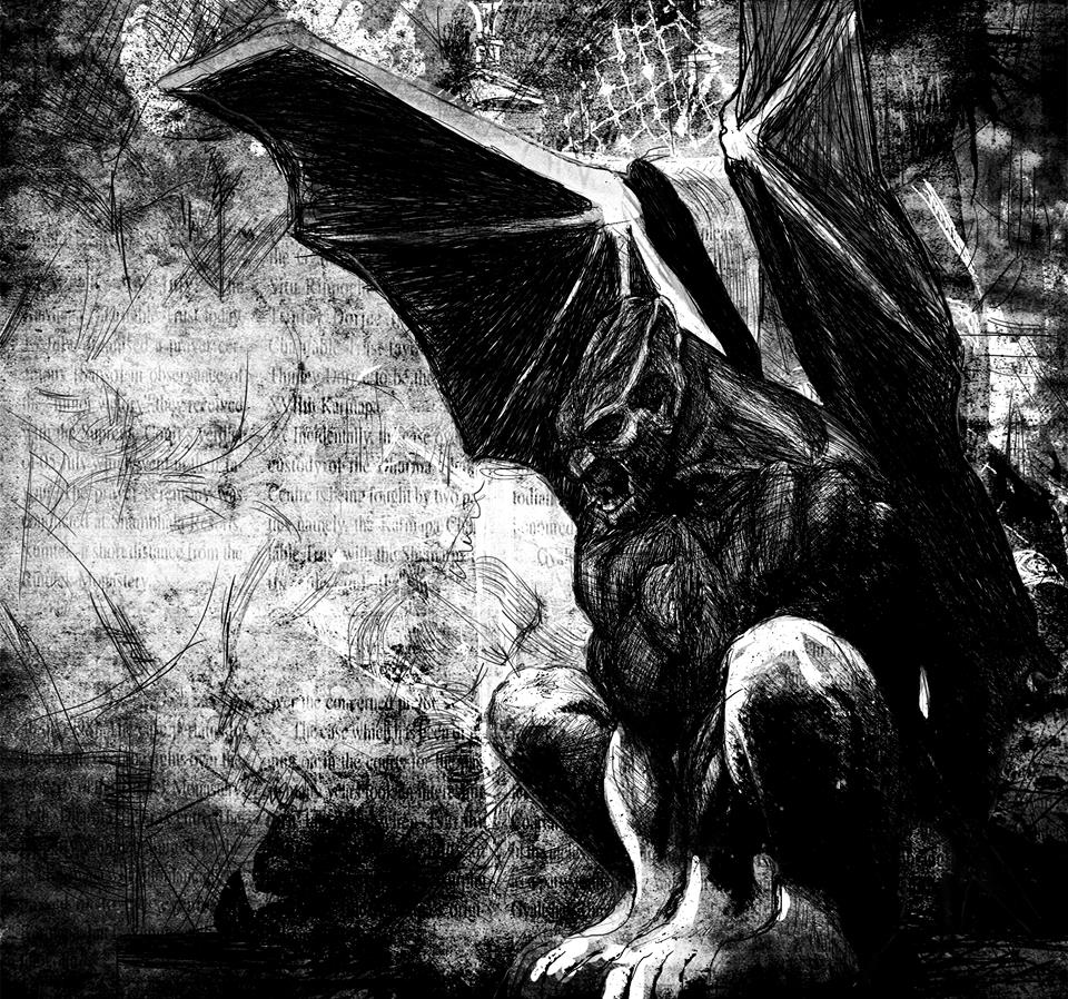 Gargoyle by SunakoPrincess