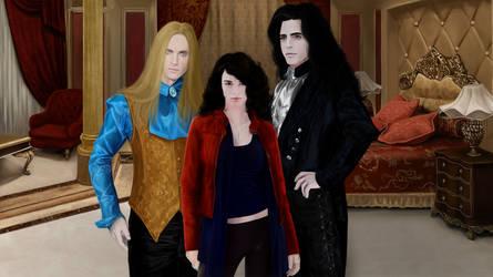 Anita, Asher, Jean-Claude