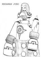 Mega Man Juno by zack-materia-hunter