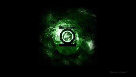 Green Lantern movie chest logo by BULAVONC