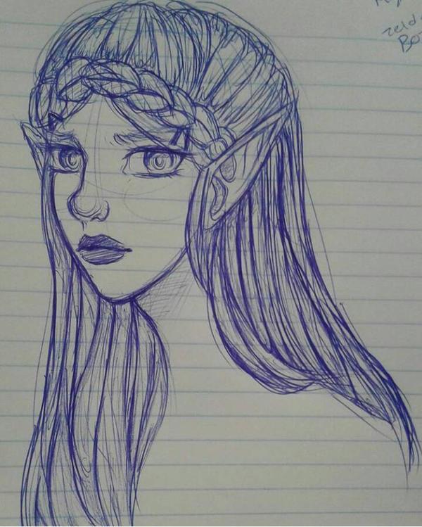 Zelda (BoTW) by 7H47-0N3-N3RD