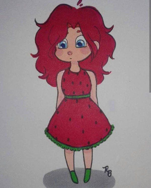 Strawberry Phoenix  by 7H47-0N3-N3RD