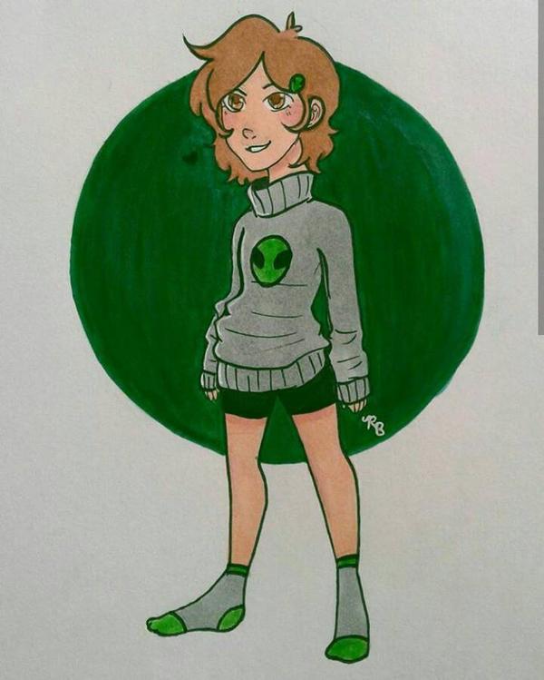 Alex (Original Character) by 7H47-0N3-N3RD