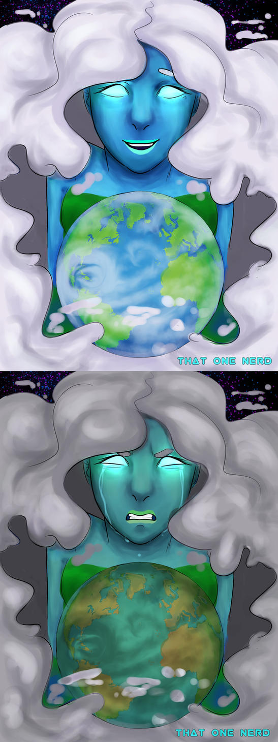 Mother Earth (03/26/2018) by 7H47-0N3-N3RD