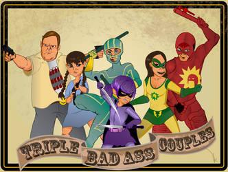 Superheroes by unclepiip