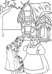 BellexRapunzel: Coloring Page by CancerSyndromEdits