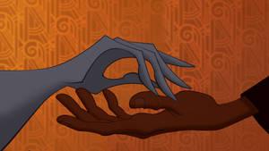 FacilierxHades: Hands