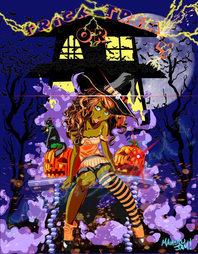 Hallowen 2012 By Maikerujam-d5jovr6 by MaikeruJam