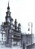 Poznan Townhall. by KrystianWozniak