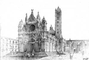 Siena Cathedral by KrystianWozniak
