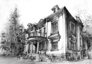 Polish Villa , Milanowek by KrystianWozniak