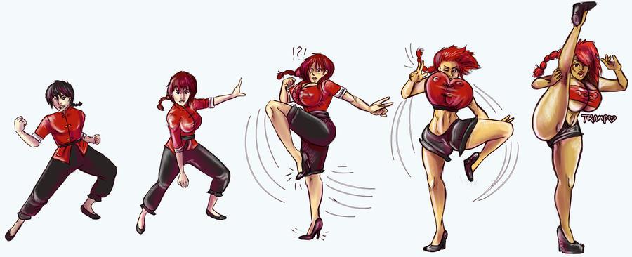Ranma Transforms! by trampy-hime