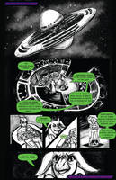 BIMBOS IN SPACE ISSUE 1: Prologue by trampy-hime