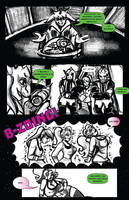 BIMBOS IN SPACE ISSUE 1: Prologue part 2 by trampy-hime