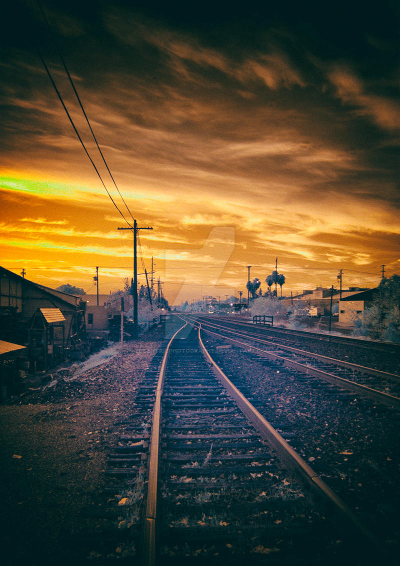 Redding Tracks by eccentricphotography