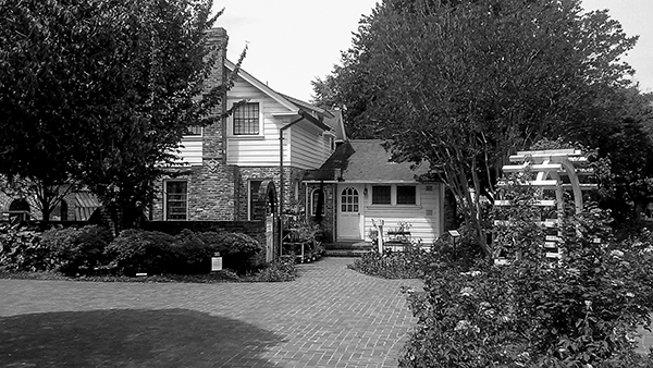 Luther Burbank Home And Gardens Black And White By Artisticimposter On Deviantart