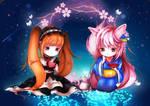 Awaken Alice and Chihiro fanart