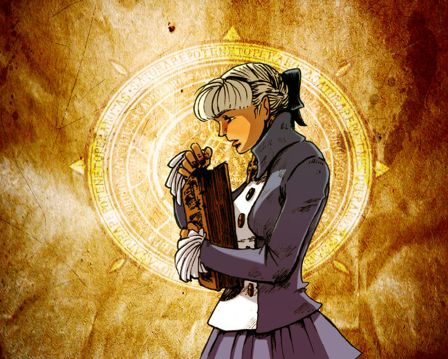 Alice Elliot_Shadow Hearts 1 by ErikaVoyager