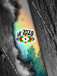 LA2028 Paralympics Poster by robbieierubino