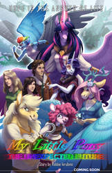 MLP - The Unexpected Future (turnipBerry) Poster