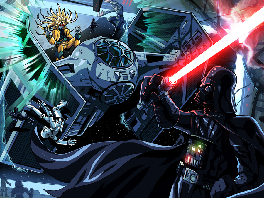 Dio vs Vader by MightyOtaking on DeviantArt