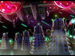 Doctor Who anime - Dalek ship