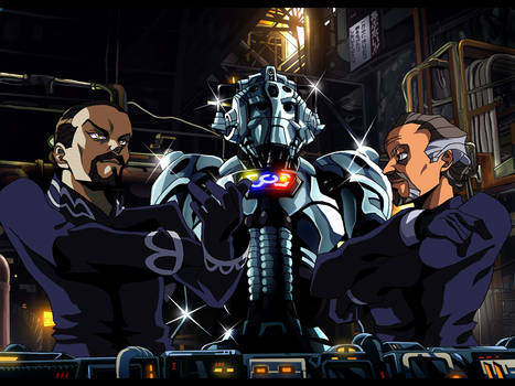 Doctor Who anime - The Masters