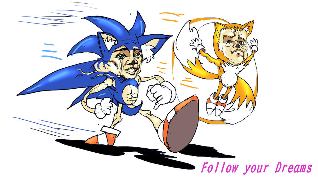 FAST the HEDGEHOG by MightyOtaking