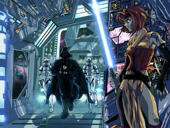 Jedi for kitsunedajfox by MightyOtaking