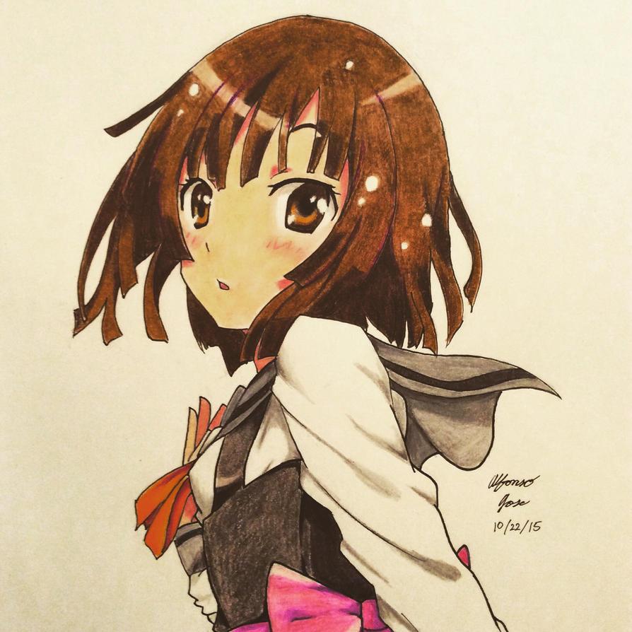 Nadeko Sengoku from the Monogatari series by ajscorching