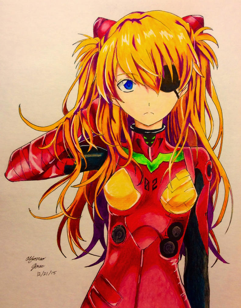 Asuka  from Neon Genesis Eangelion by ajscorching