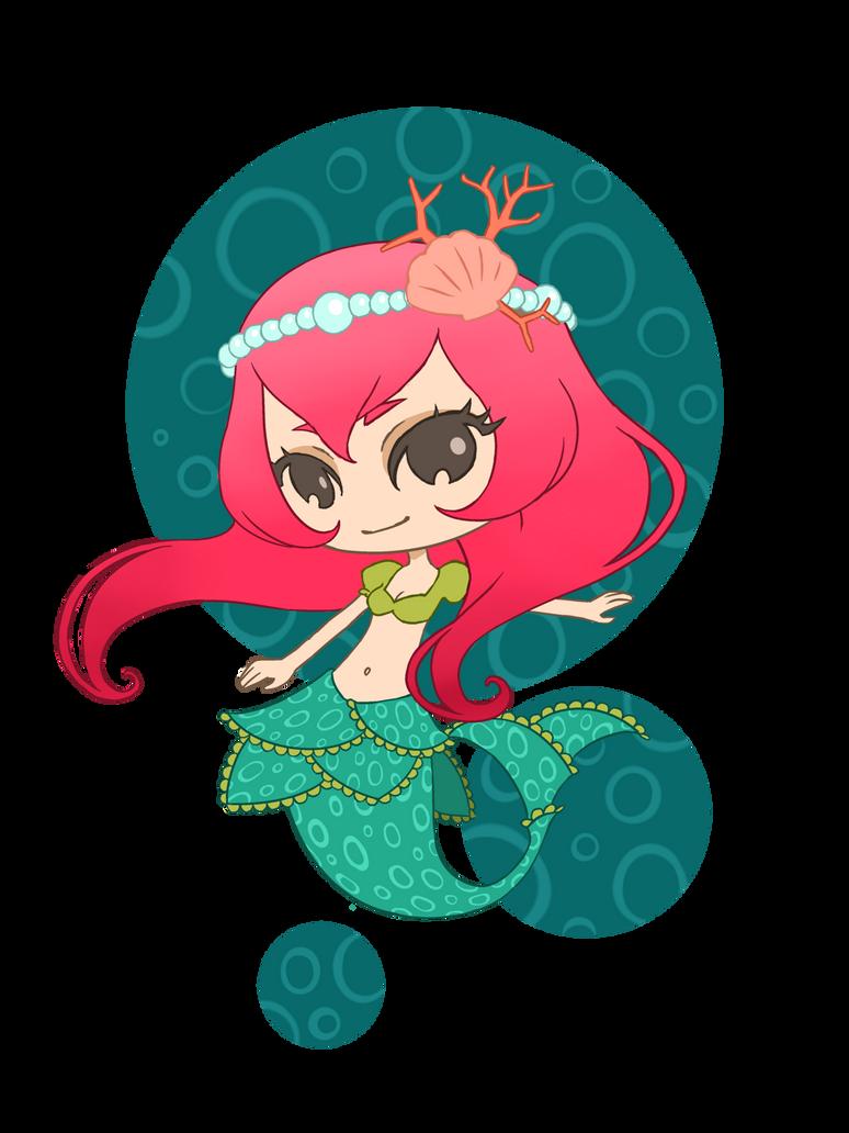 Chibi Mermaid By LiliLith On DeviantArt