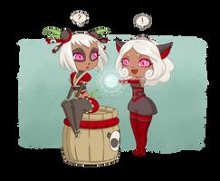Hana and Yomi by LiliLith
