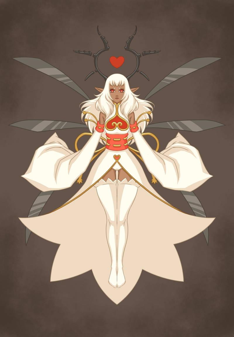 Eniripsa goddess by LiliLith