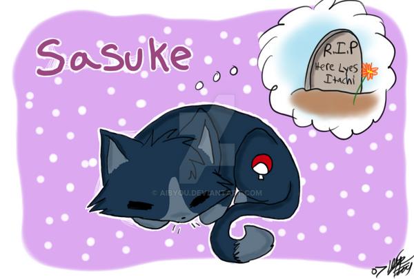 sasuke: neko by Aibyou