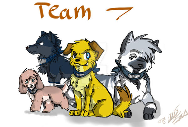 team 7 canines by Aibyou