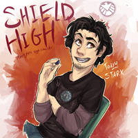 SHIELD High!: Tony Stark by Aibyou