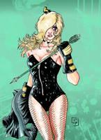 Black Canary by AdryLavi