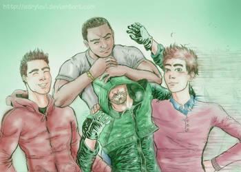 Team Arrow: Boys by AdryLavi