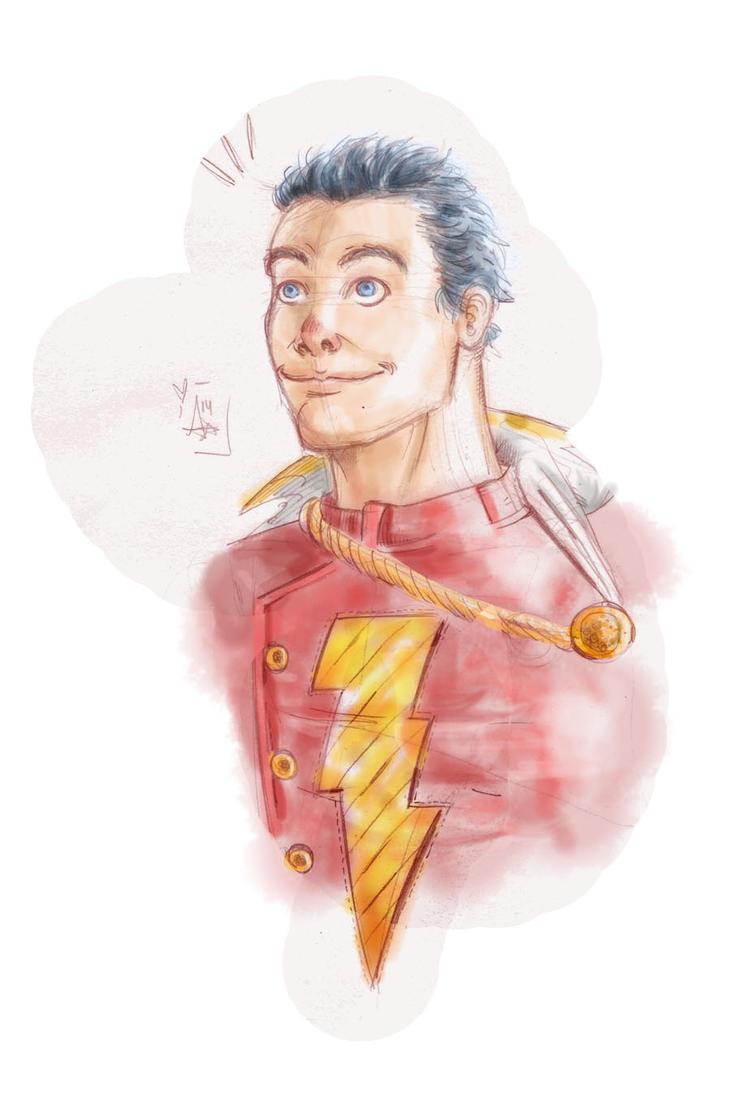 Shazam! sketch by AdryLavi