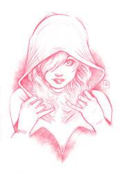 Gwen Stacy / Spider-Verse original artwork by AdryLavi